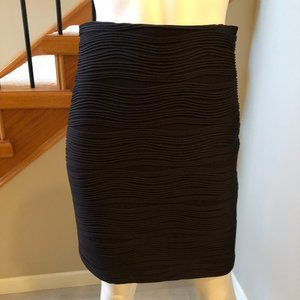 Joseph Ribkoff slip-on pencil Skirt Black Size 6